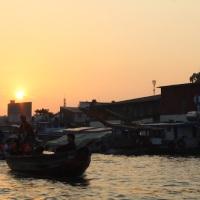 Mekong-Delta und Roller-Minh-City, Vietnam